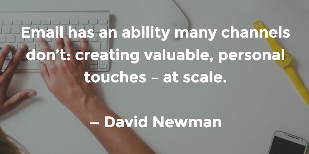 Email Quote by David Newman