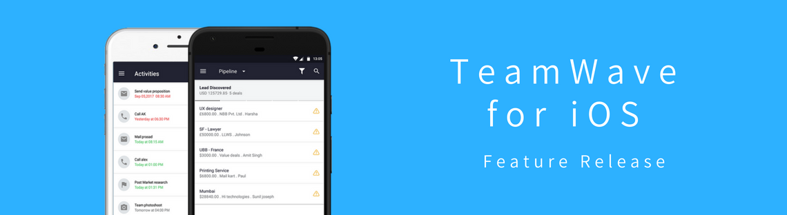 TeamWave Gets a Mobile App – iOS Release