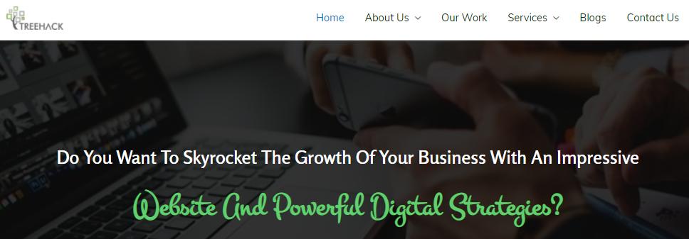Treehack: Web development and digital marketing company