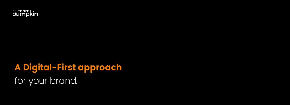 Team Pumpkin: Digital Marketing Company in Bangalore