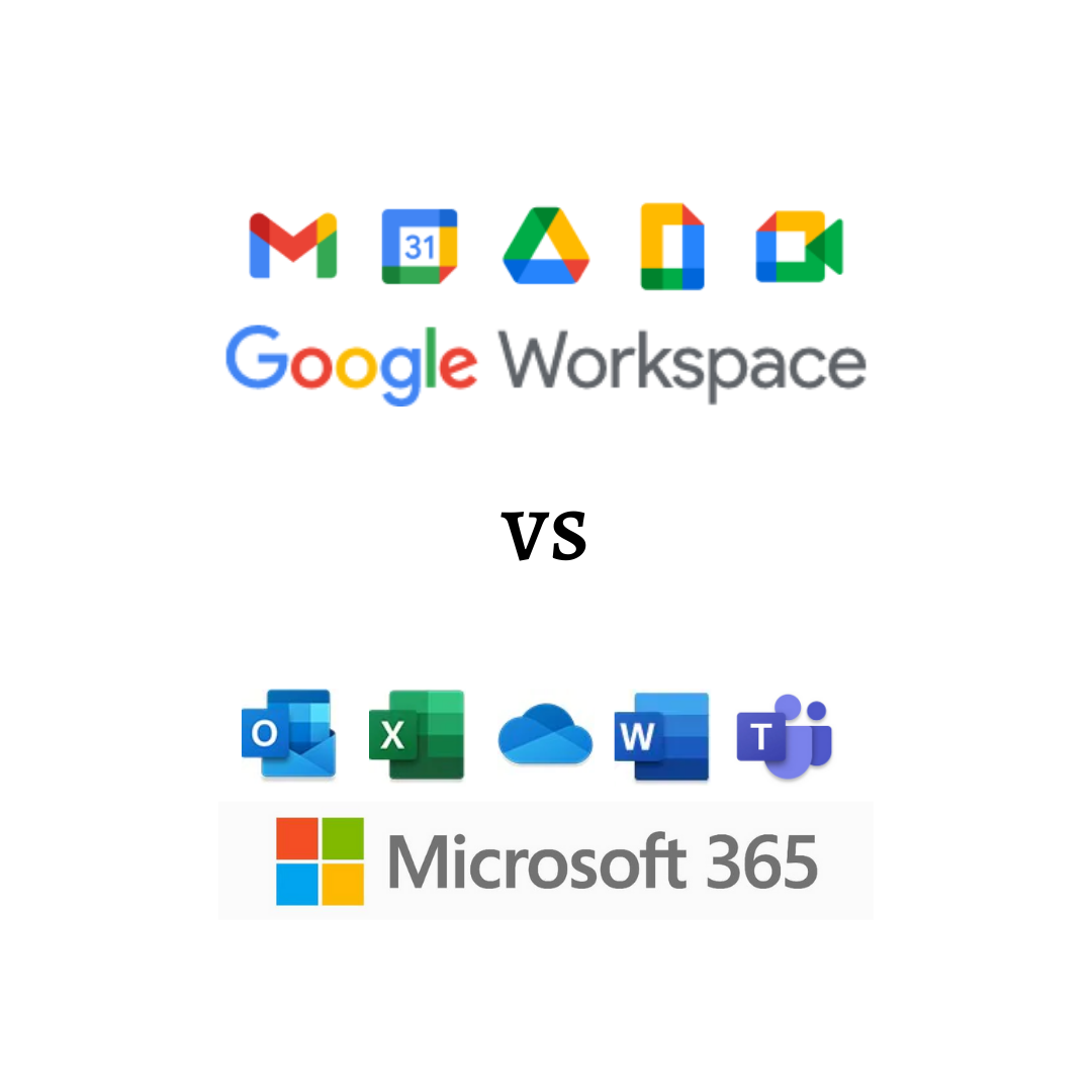 Google Workspace (formerly G Suite) vs Microsoft 365 – Which one is better for your business?