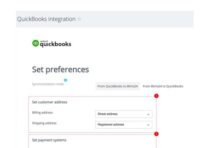 Quickbooks Integration with Bitrix24