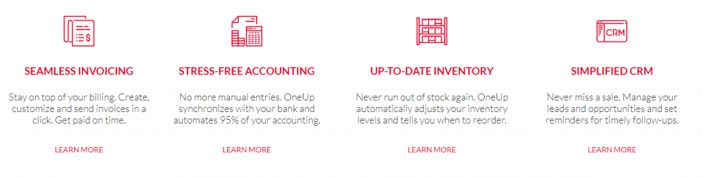 Automate your accounting with OneUp