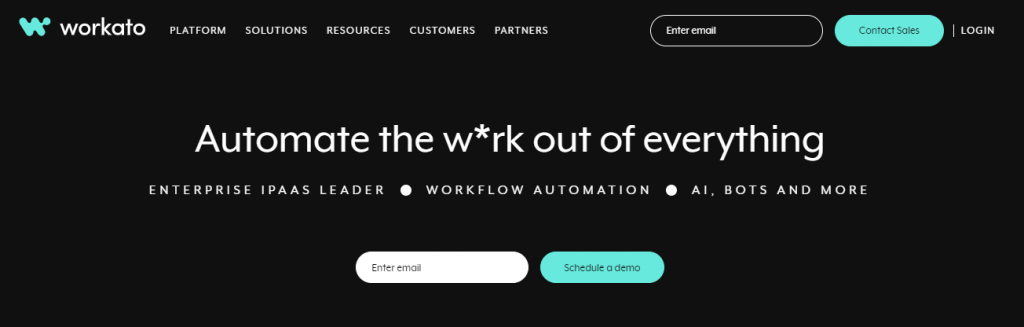Workato - Modern leader in automation