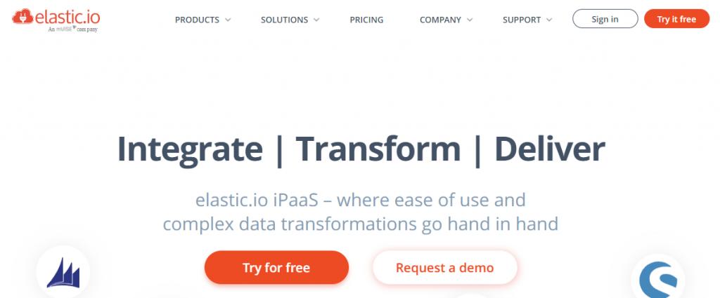 Elastic.io - Hybrid Integration Platform