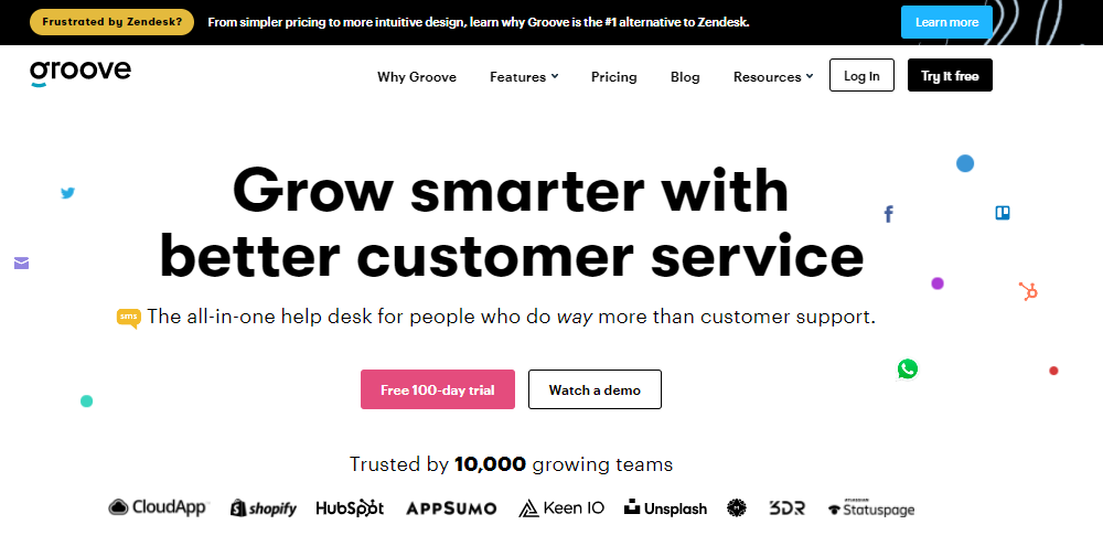 Groove: Build better customer experiences