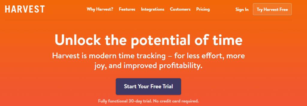 Harvest: Easy time tracking software with invoicing