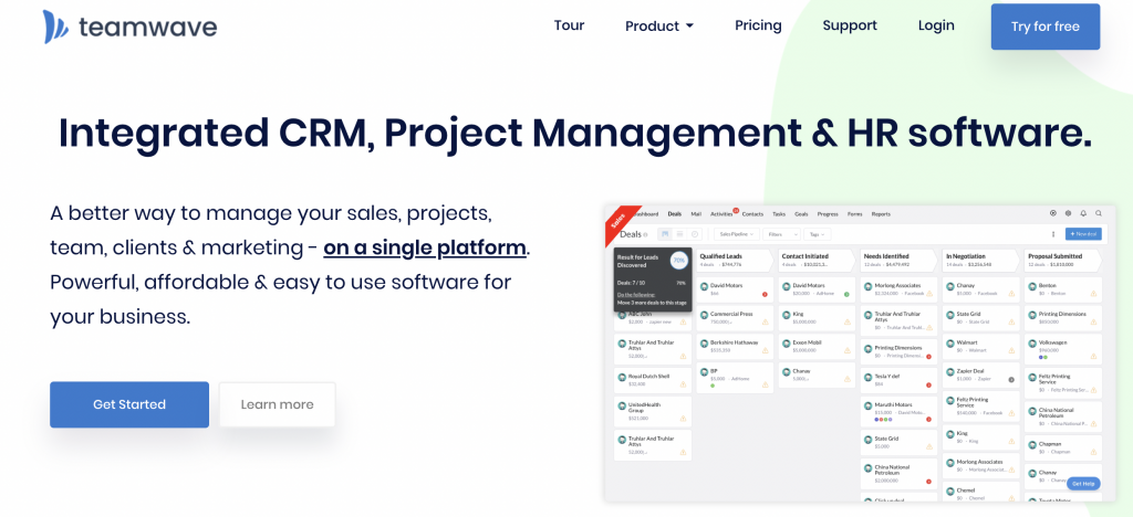 TeamWave's White Label SaaS Software Program