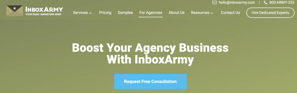 InboxArmy White Label Email Marketing Services