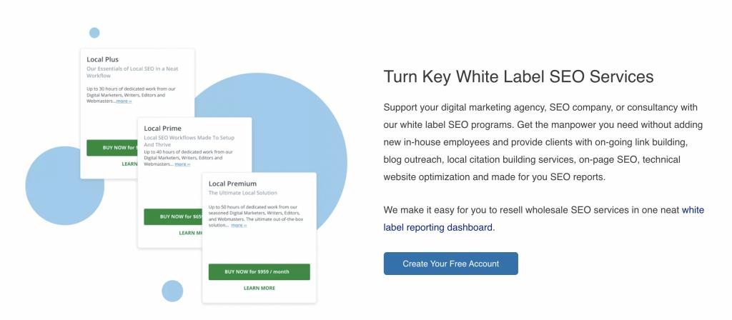 SEOReseller: White Label SEO Services