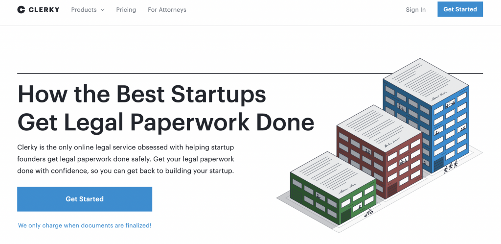 Clerky: Best way for startups to get their legal work done