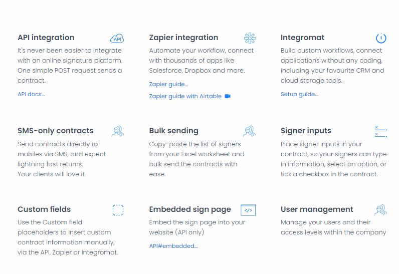 eSignatures.io: Simple electronic signature app