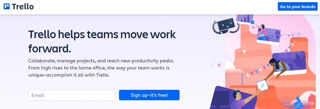 Trello - Simple Project Management Software