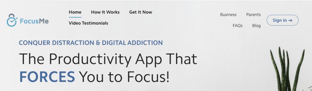 FocusMe - Website Blocker and Focus App