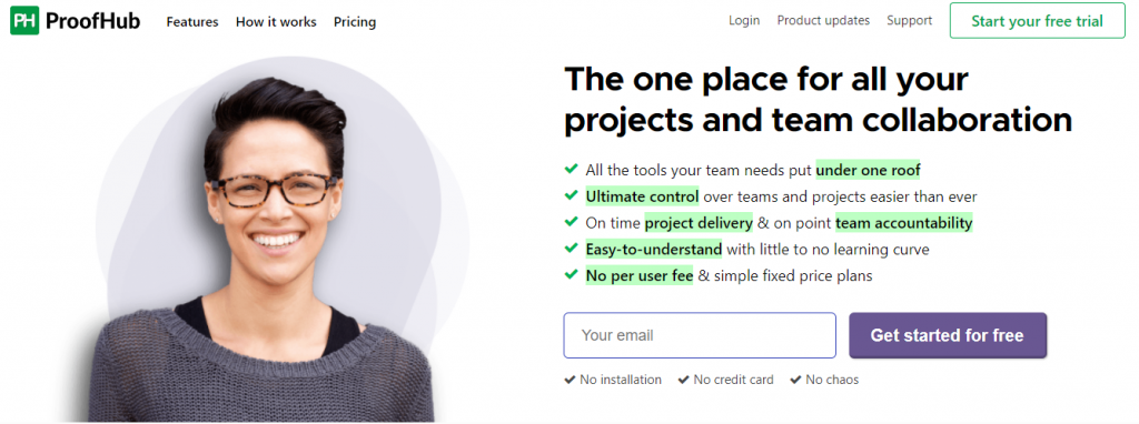 ProofHub - Project Planning Software