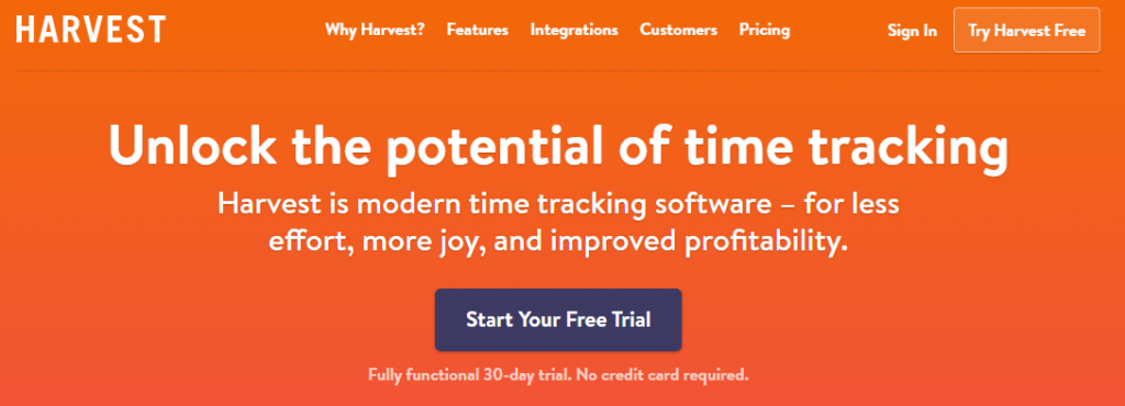 Harvest - Time Tracking and Invoicing Software