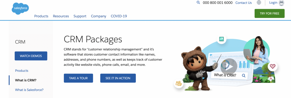 Salesforce helps small and midsized businesses grow faster by increasing sales, automating tasks, and making smarter decisions.