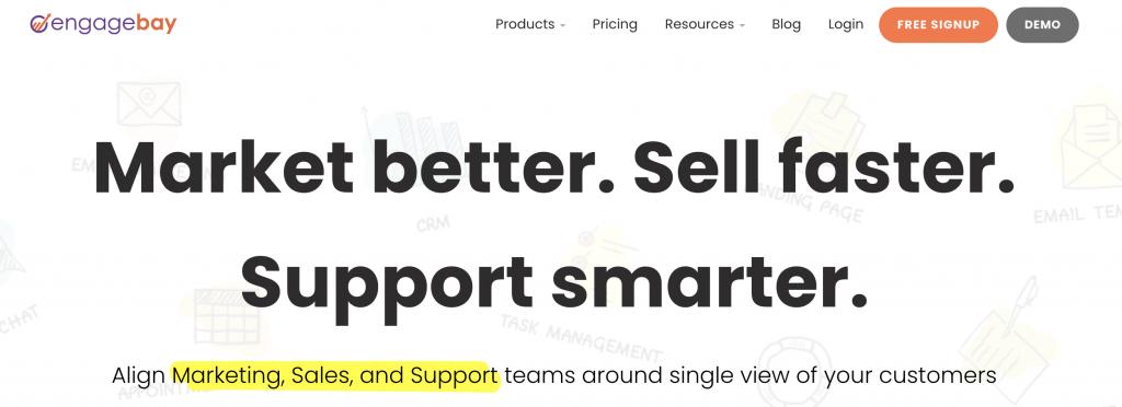 Engagebay as a salesforce alternative